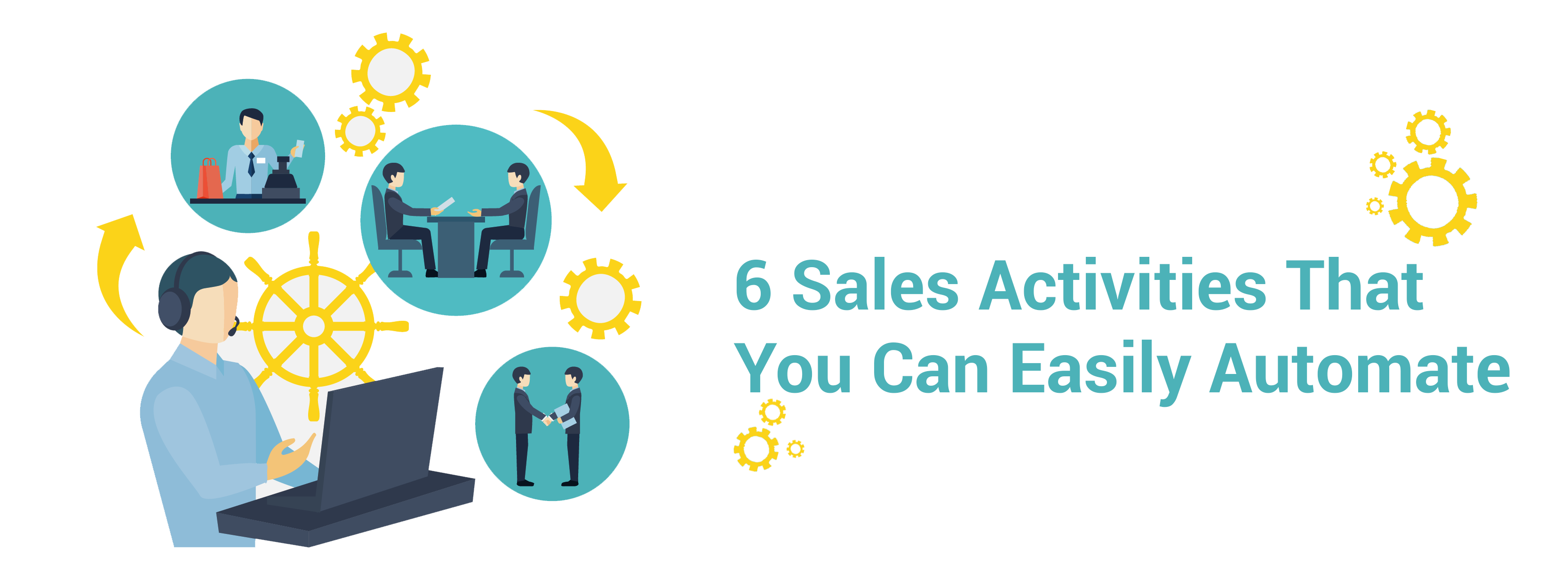6 sales activities that you can easily automate